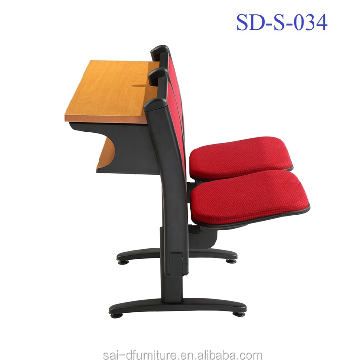 China School Furniture Cheap Folding College Step Students Study Table And  Chair SD S