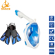 Antifog Scuba Diving Full Face Snorkel Mask
