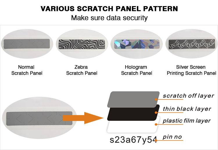 Win รางวัล Scratch Card/Lottery Ticket ผู้ผลิต/กระดาษและกระดาษแข็งการ์ดการพิมพ์