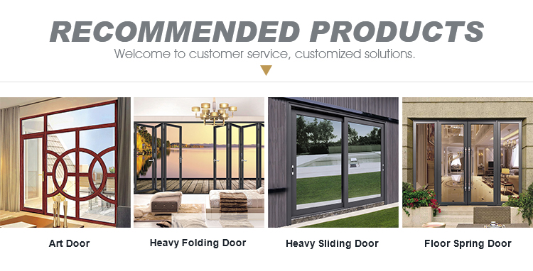 Modern house slimline aluminium glass patio doors and windows
