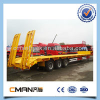 3 axles 40 tons payload with FUWA axles truck and trailer dimensions in Africa