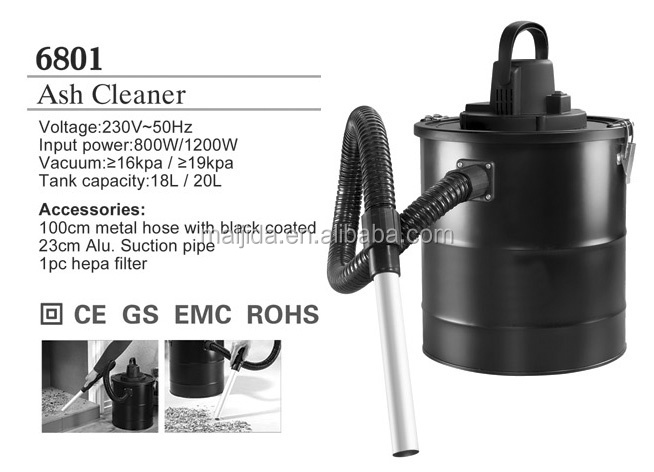 vacuum cleaner 800W vacuum cleaner 1200w fireplace ash vacuum cleaner20L in yongkang