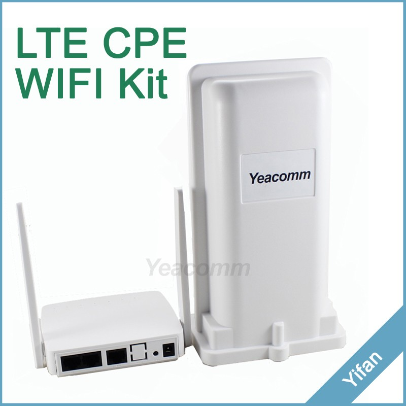 Yeacomm 4g LTE outdoor CPE router and indoor AP WIFI KIT