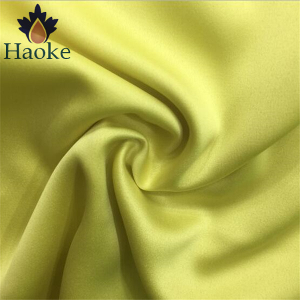 95% polyester 5% spandex 50D woven stretch matte satin fabric