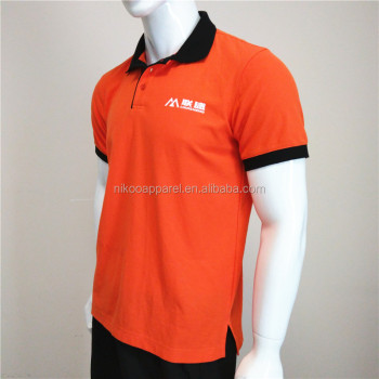 Custom Polo Shirt For Supermarket Staff Company Men
