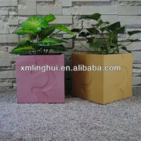 2014 New Design Modern Square Plant Container Ideas