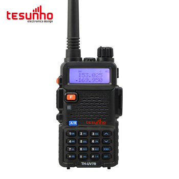 TESUNHO TH-UV7R Monitor Cell Phone Two Way Radio Radio Receivers With Power-On Personalized Display Settings