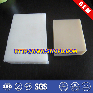 55mm natural color ptfe teflon sheet/plate