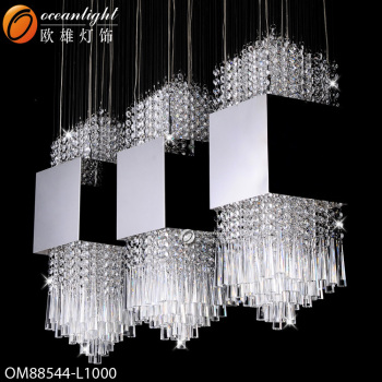 Hot sale modern crystal chandelier lightingdiy stainless steel hot sale modern crystal chandelier lighting diy stainless steel chandeliers long stairwell chandeliers aloadofball Image collections