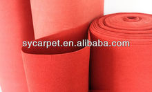 100% polyester nonwoven needle punch exhibiton quality carpet brand of China