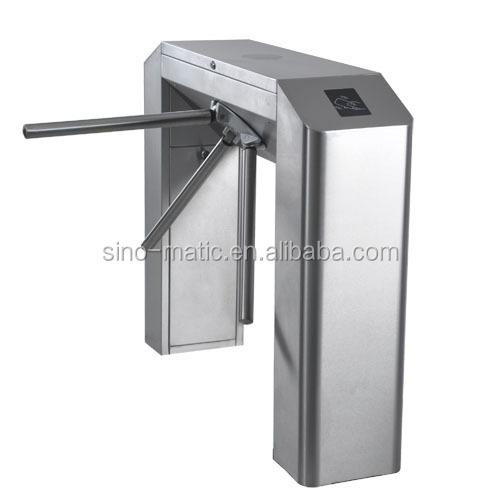 Deluxe Tripod Turnstile Gate Systems for Security Access Control