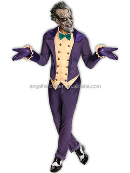 halloween cosplay costumes the dark knight joker costume agm291