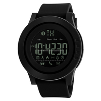 New Version skmei 1255 factory price calorie Call SMS Reminder watch camera Bluetooth Smart Watch connected with iOS Android