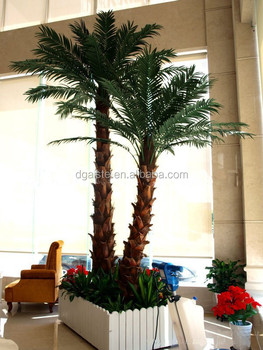 Decorative Home Decor 4m Tall Artificial Palm Tree Decorative Garden Used  Wholesale Fake Plastic Curved Coconut Tree Eyzs20 , Buy Fake Coconut