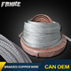 flat flexible bare braided copper wire