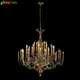 Discount High quality 36 Lights Brass chandeliers Brass church chandeliers