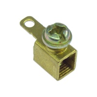 cable terminal block,screw terminal block connector,stamped brass terminal
