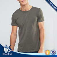 Guangzhou Shandao Cheap Price Men 200g 95% Cotton 5% Spandex Summer Short Sleeve t shirt printing companies