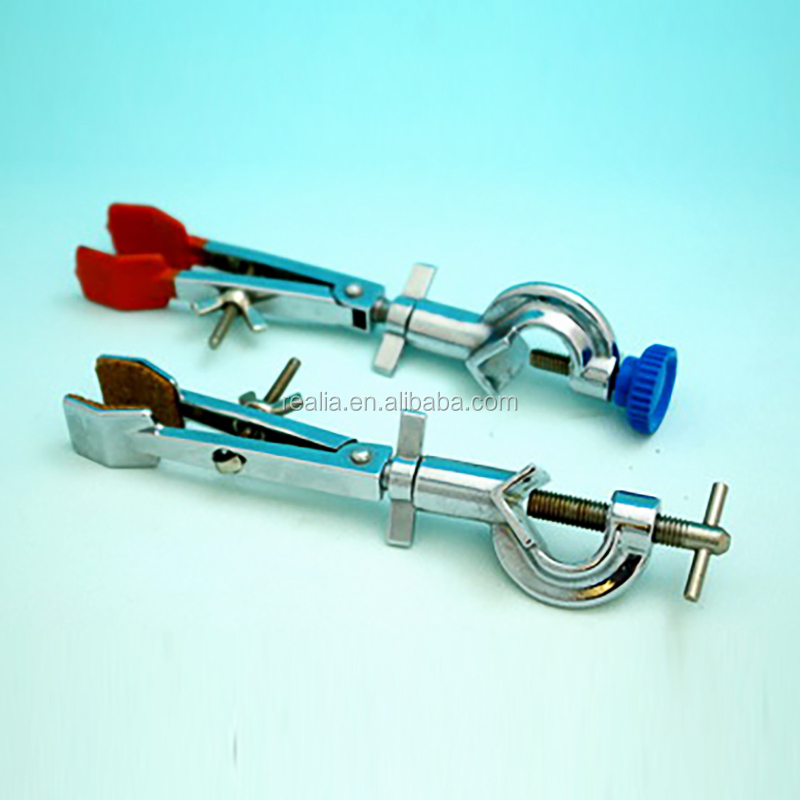 HML118 Lab Two prong electroplating Adjustable swivel univeral clamp holder