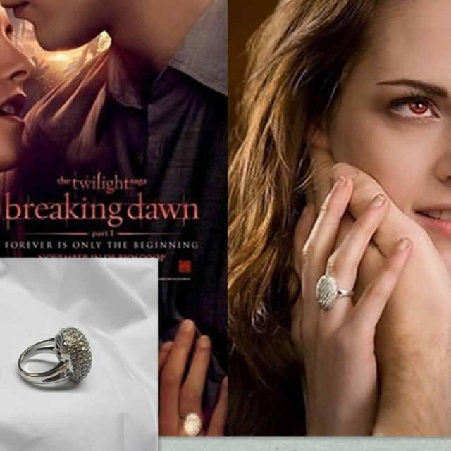 High Quality Copied Twilight Bella Engagement Ring Diamond