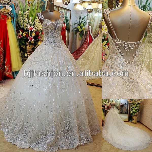 Bridal Ball Gowns With Bling - Junoir Bridesmaid Dresses
