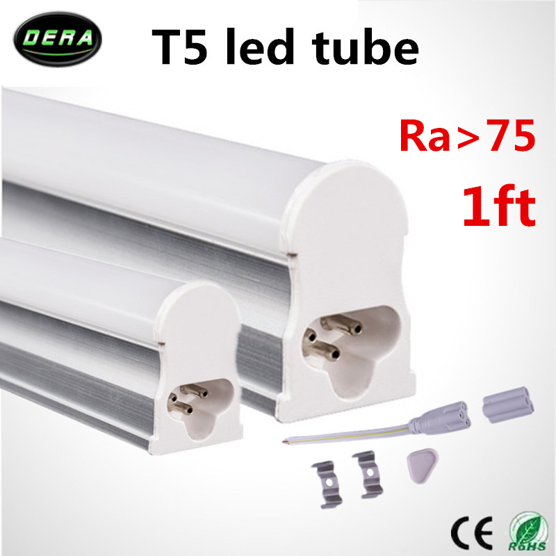 CE ROHS UL 300mm led t5 tube lighting