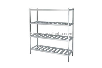 Restaurant Kitchen Metal Shelves 4 layers restaurant kitchen stainless steel shelves/stainless