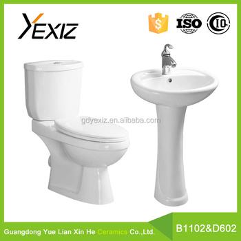 B1102 & D601 Badkamer Goedkope Toilet En Wastafel,Complete Badkamer ...