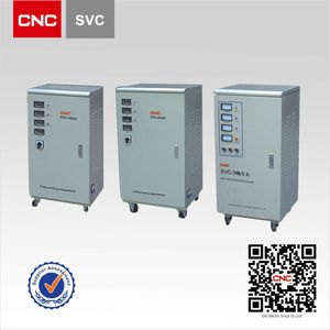 AC Current Servo Control SVC Three Phase Automatic Voltage Stabilizer