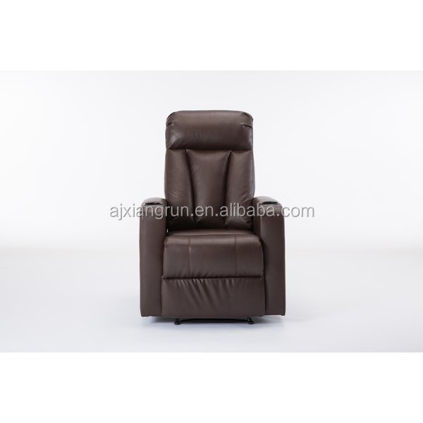 mordern leather recliner sofa chair,vabration massage chair,rocking chair cinema sofa single