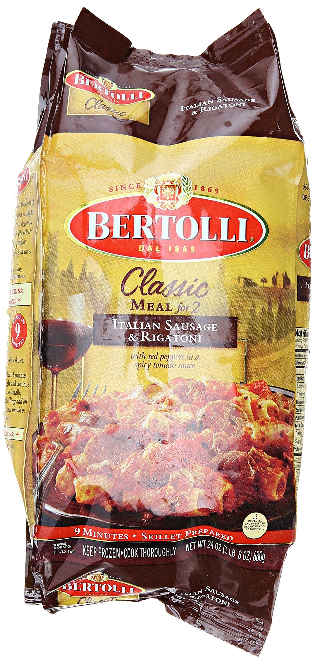 Bertolli Classic Meal for 2 Italian Sausage & Rigatoni, 24 oz
