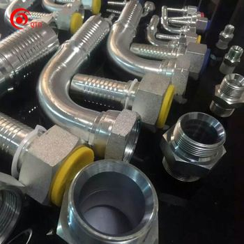 NPT hose fittings for high pressure hydraulic hose made in China