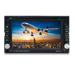 Universal Dashboard Car Video DVD Player with Reversing Image Function
