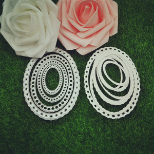 Circle Shape Metal Crafts Cutting Dies Metal Embossing Circle Dies Stencil
