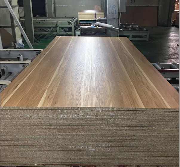Wood Panel Embossing Melamine Particle Board 1220x2440mm