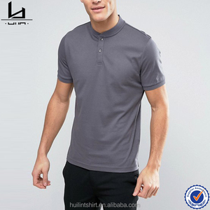 wholesale clothing miami collarless split sides us polo t shirts in india