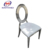 Shunde new design dining stainless steel chair for wholesale