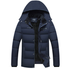 2018 Plain Customs Coach Nylon Fabric Fleece Lined Padding Winter Man Jacket