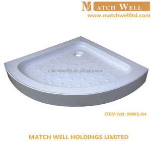 ceramic acrylic deep shower tray and base in wholesale price