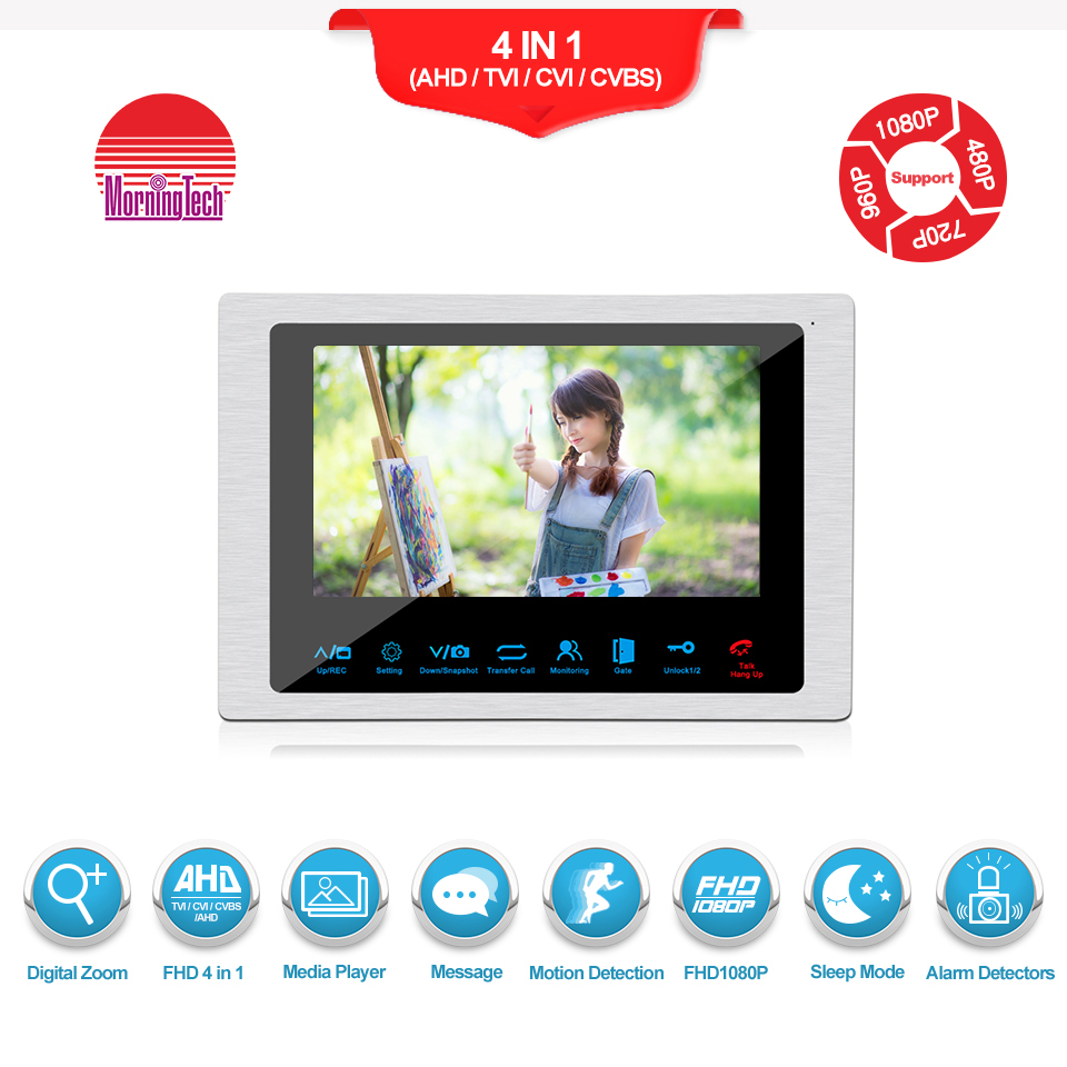 Easily installs Wires Video Intercom support Two Way Talking
