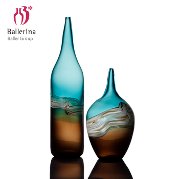 home decor hand blown antique glass vases