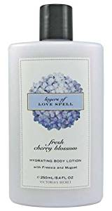 Victoria's Secret Garden Fresh Cherry Blossom Layers of Love Spell Hydrating Body Lotion 8.4 fl oz