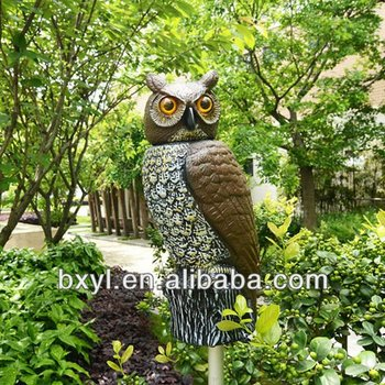 Solar Garden Owl