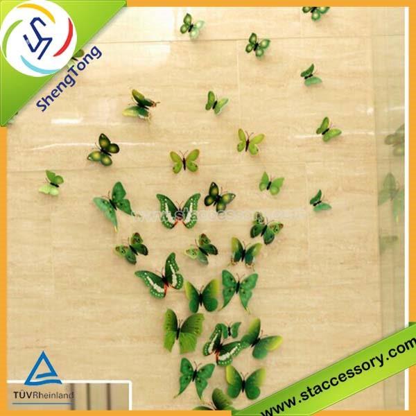 Magnificent 3d Wall Art Butterflies Ornament - Wall Art Design ...