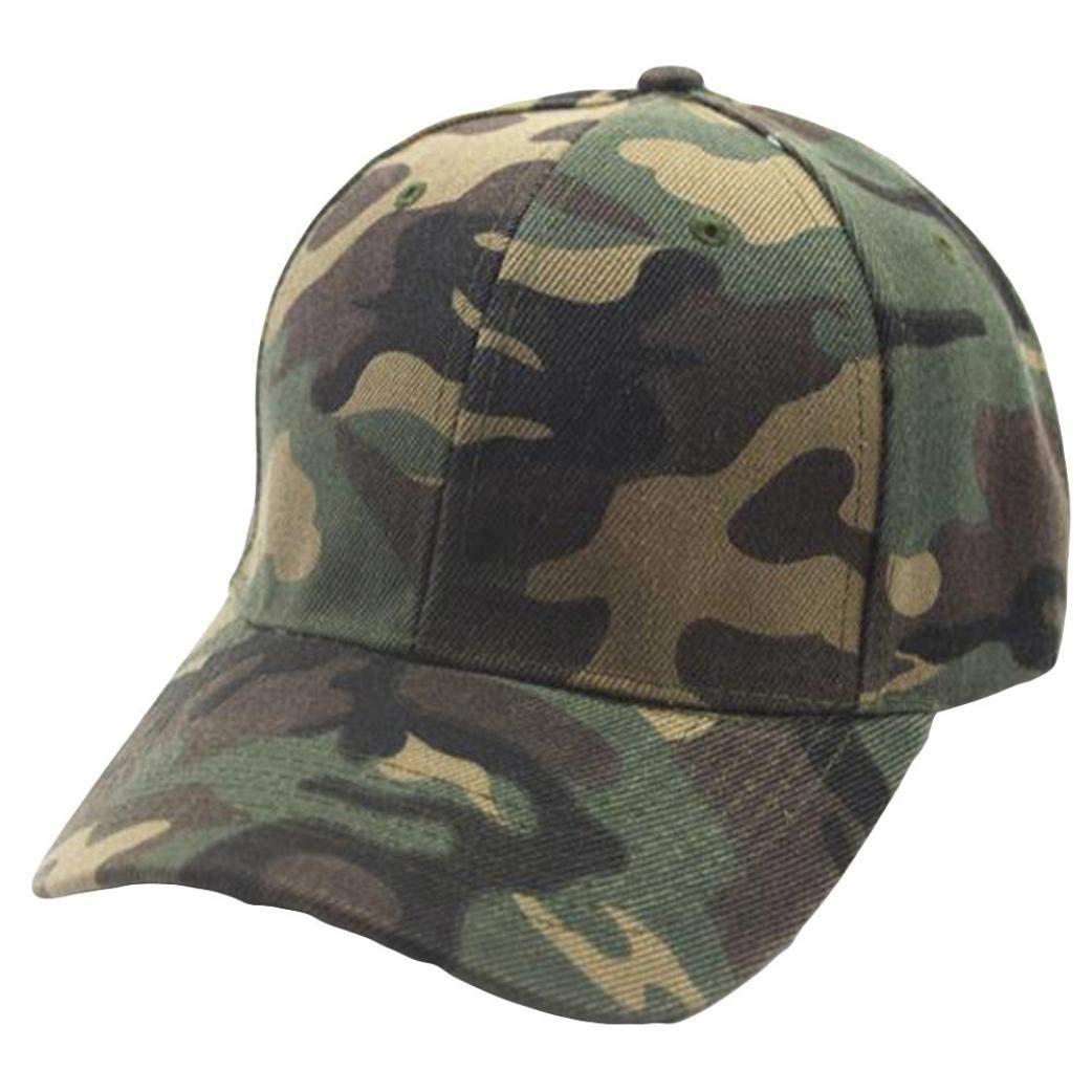 Get Quotations · Ankola Plain Baseball Cap Men Womens Camouflage Baseball  Cap Snapback Hip Hop Flat Hat 4ac69b04183e