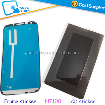 low priced f4866 99be8 Original Back Sticker For Frame For Lcd For Samsung Galaxy S1 S2 S3 S4 S5  S3mini S4 Mini Note 1 Note 2 Note 3 - Buy Back Sticker,Back Sticker,Back ...