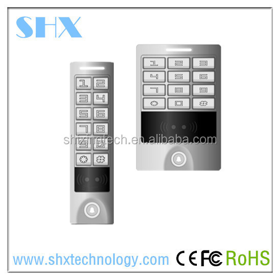 RFID NFC smart card door Reader for access control with TCP/IP Wiegand