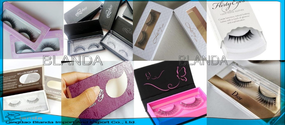 customized eyelash packaging