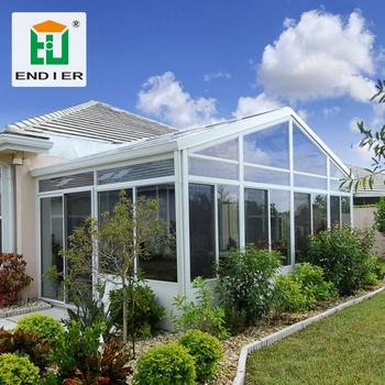 Outdoor Glass Room Winter Garden Aluminum Enclosures Sunroom Prefabricated  Aluminium Glass House - Buy Glass Window House,Aluminum Glass Sunroom,Glass