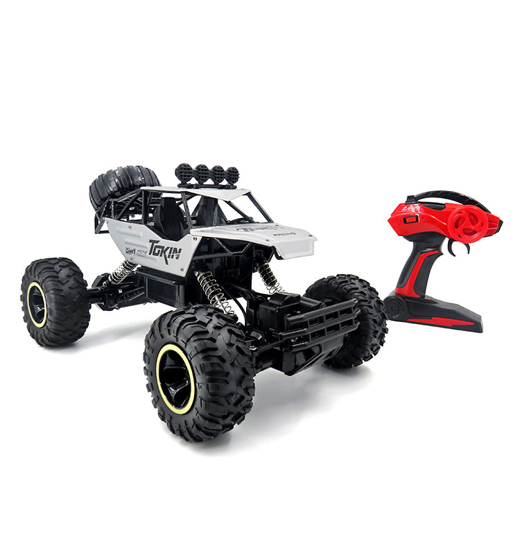 7. 6026E_Silver_2.4G_4WD_Off-Road_Buggy_Rc_Climbing_Car_Remote_Control_Alloy_Car